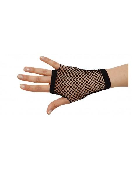 Μαύρα Διχτυωτά Γάντια