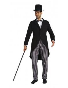 Long Black Male Tailcoat