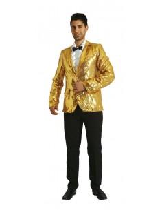 Χρυσό Ανδρικό Σακάκι με Παγιέτες