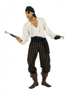 Ecru Man Pirate Shirt