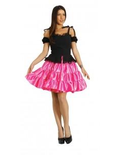 Fuchsia Short Skirt