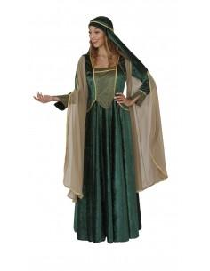Μεσαιωνικό Φόρεμα Πράσινο