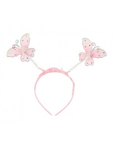 Pink Butterfly Halo