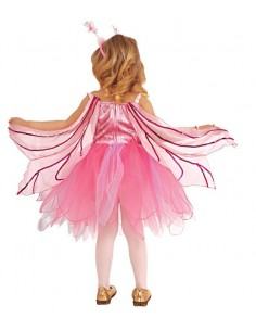 Pink Voile Wings