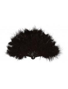Black Feathered Fan