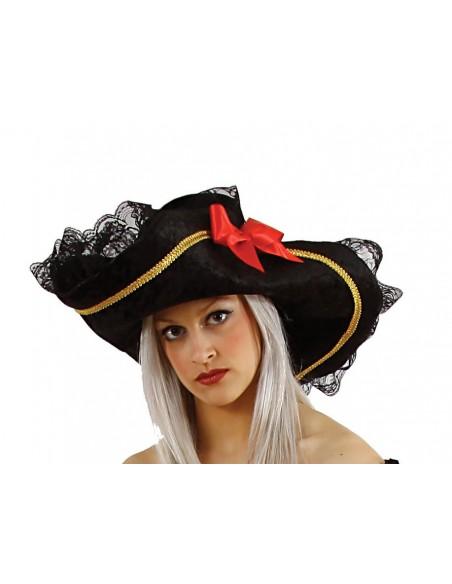 Black Woman Pirate Hat