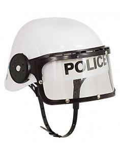 White Police Helmet for Children