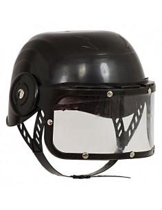 Black Police Helmet for Children