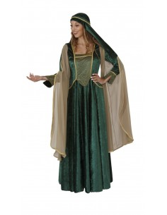 Medieval Dress Green
