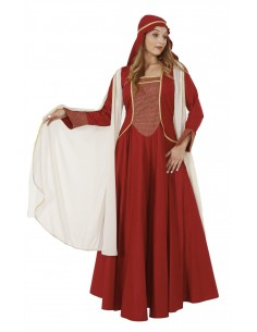 Medieval Dress Red