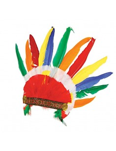 Indian Crown with Feathers